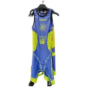 Mono Triathlon azul Brújula