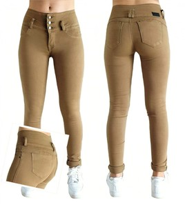Jeans push up camel