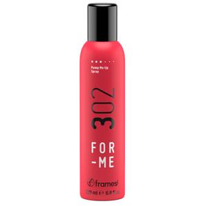 Spray cuerpo y volumen raices y medios del cabello.302 Pump Up Framesi