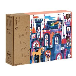 Puzzle maxi Clementoni piezas castillo