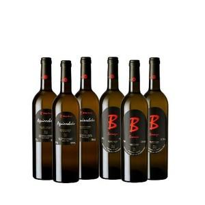 Pack de 3 botellas Berroja y 3 botellas Aguirrebeko