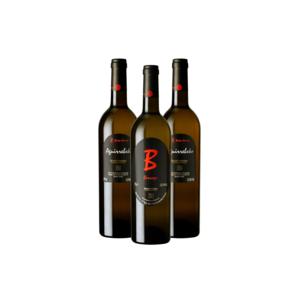 Pack de 2 botellas de Txakoli Aguirrebeko y 1 botella Txakoli Berroja