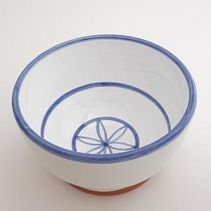 Bol decorado grande artesanía cerámica