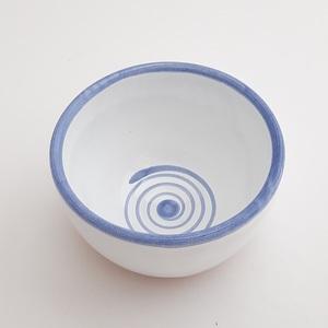 Bol decorado pequeño artesanía cerámica