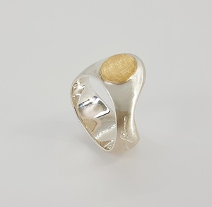 Sortija Conch Plata Oro