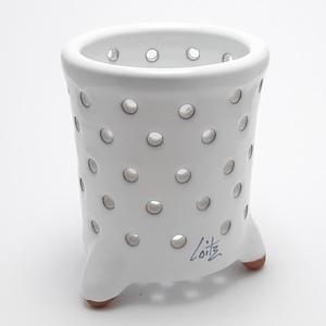 Escurrecubiertos artesanía cerámica