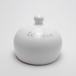 Estropajero artesanía cerámica