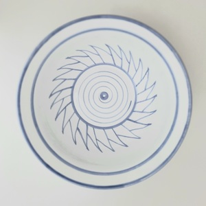 Frutero decorado artesanía cerámica