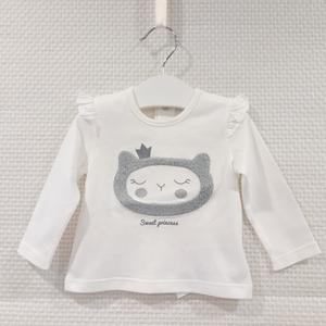 Camiseta de manga larga Gatito para bebé de Losan
