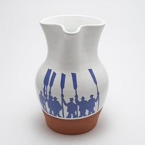 Jarra de Vino Arrantzal artesanía cerámica