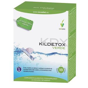 Suplemento alimenticio Kildetox Verde Stick (NOVADIET)