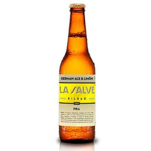 Cerveza La salve pika bot 33 cl. (Caja 12 botellines)