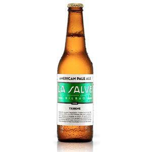 Cerveza La salve txirene bot 33 cl. (Caja 12 botellines)