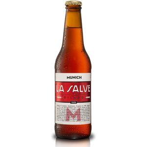 Cerveza La salve munich bot. 33 cl (Caja 24 botellines)