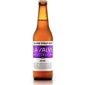 Cerveza La salve botxo bot. 33 cl (Caja 12 botellines)