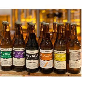 Cerveza Pack experiencia la salve (Caja 12 botellines)