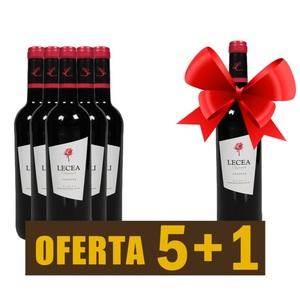 Vino tinto Rioja LECEA crianza 2017 - OFERTA 5+1