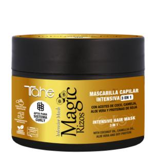 Mascarilla capilar intensiva 3 en 1 Magic rizos Tahe 300ml.