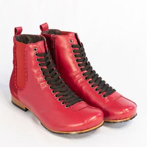 Botas Mañios Red Velvet