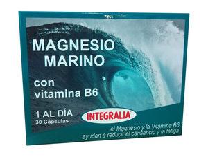 Magnesio marino con B6 30cap. Integralia