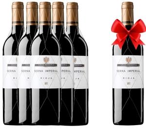 Vino tinto Rioja SERNA IMPERIAL GRAN RESERVA 2004 - OFERTA 5+1