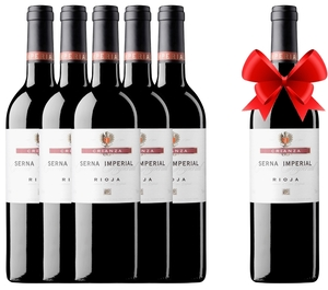 Vino tinto Rioja SERNA IMPERIAL crianza 2017 - OFERTA 5+1