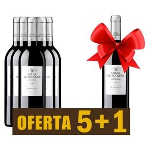 Vino tinto Rioja SOLAR DE BÉCQUER crianza 2016 - OFERTA 5+1