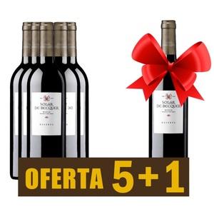 Vino tinto Rioja SOLAR DE BÉCQUER RESERVA 2011 - OFERTA 5+1
