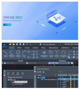 Software De Diseño Zwcad Pro