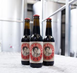 Cerveza Boga Imperial Stout AINHOA – BLACK IS BELTZA II. Caja de 6 botellas