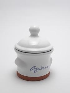 Azucarero artesanía cerámica