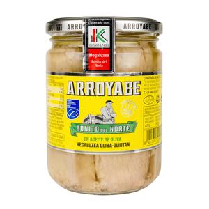 Bonito del Norte «Eusko Label» en aceite de oliva 450 (pack de 6 tarros)