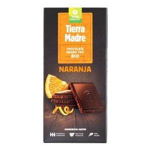 Chocolate Negro 70%  Naranja Bio 100G