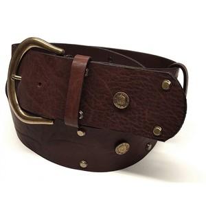 Cinturón cuero marrón