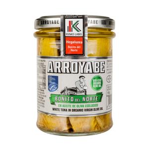 Bonito del Norte «Eusko Label» en aceite de oliva virgen extra ecológico (pack de 6 tarros)