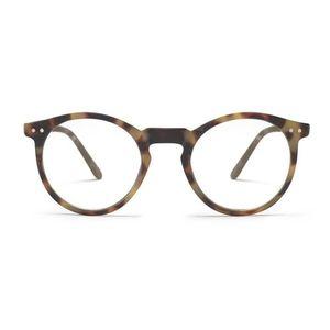 Gafas de pantalla leopardo altas