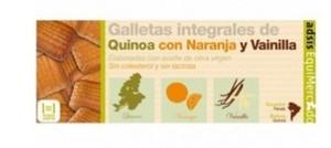 Galletas Quinoa Naranja Vainilla  125  Ecuador