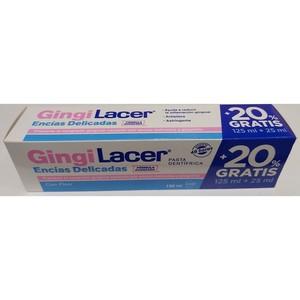 GINGILACER ENCIAS DELICADAS pasta dentifrica 125ml+25ml gratis