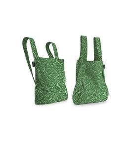 Mochila-bolsa plegable Notabag original Rocio Verde ( Green Sprinkle)