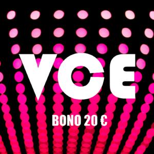 Bono 20 €. Alquiler de películas