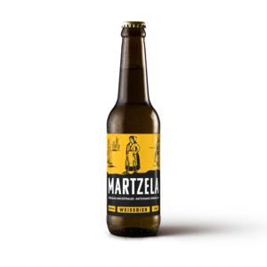 Cerveza Boga de Trigo Martzela - Caja 6 botellas