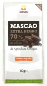 Mascao negro con pepitas de cacao 100 gr