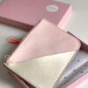 Monedero Tarjetero rosa