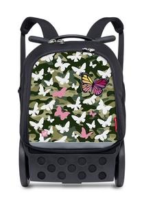 Mochila escolar Nikidom Roller Up XL Butterfly Camo