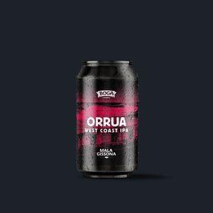 Cerveza BOGA Orrua - West Coast IPA (Caja de 8 latas de 33cl.)