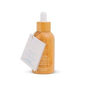 AGUA Y FUEGO: Serúm facial para piel sensible o mixta 30 ml