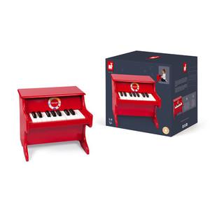 Piano confeti rojo