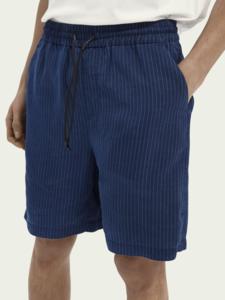 Shorts playeros de TENCEL™ con diseño de rayas