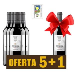 Vino tinto Rioja ECOLOGICO SOLAR DE BÉCQUER CRIANZA - OFERTA 5+1
