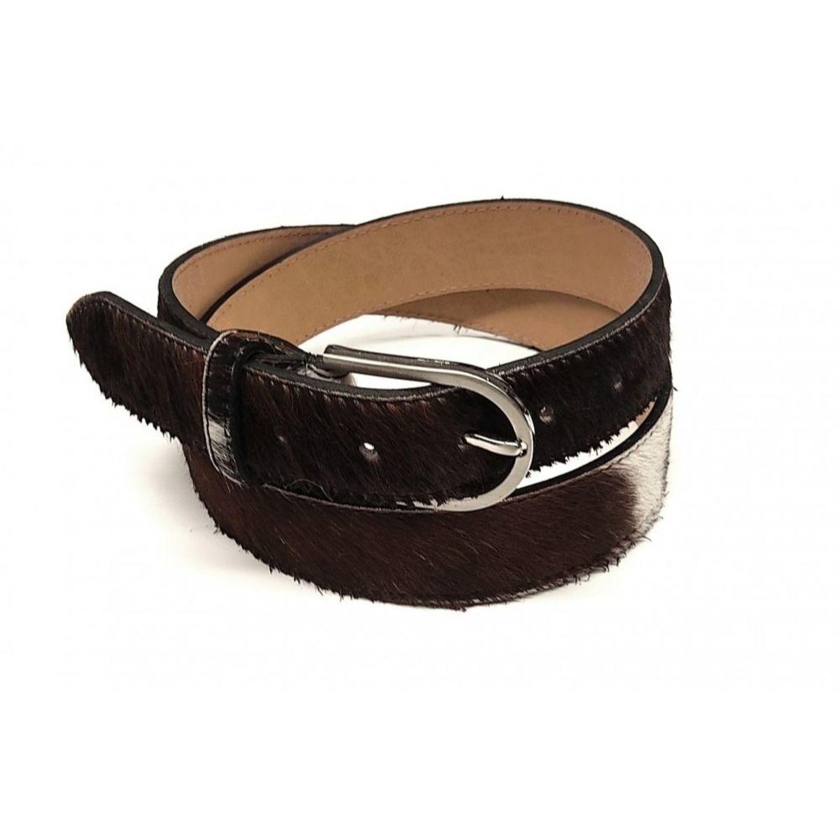 Cinturón piel potro